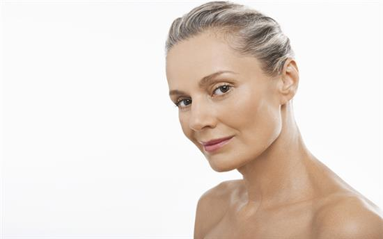 facelift surgery middle aged woman